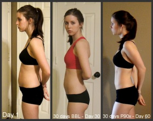 Use P90X to build the body you want!