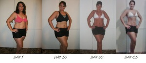 P90X Womens Results! Before & After