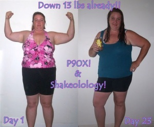 P90X Before & After Results